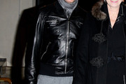 Stefano Gabbana Leather Coat
