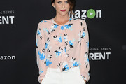 Amy Landecker Ruffle Blouse