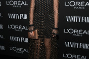 Halston Sage Sheer Dress