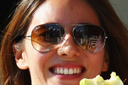 Jessica Michibata Aviator Sunglasses