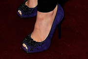 Lisa Scott-lee Peep Toe Pumps
