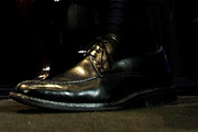 Timothy Geithner Flat Oxfords