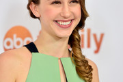 Taissa Farmiga Loose Braid