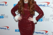 Meghan Trainor Sequin Dress
