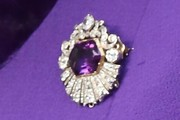 Queen Elizabeth II Gemstone Brooch