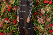 Letitia Wright Embroidered Dress
