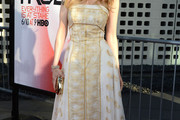 Kristin Bauer van Straten Strapless Dress