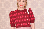 Gillian Jacobs Knit Top