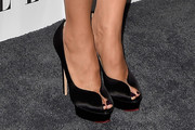 Jennifer Garner Peep Toe Pumps