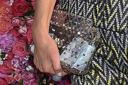 Nicky Hilton Rothschild Studded Clutch