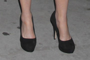 Barbara Hershey Platform Pumps