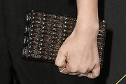 Lucy Hale Beaded Clutch