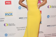 AnnaLynne McCord Fishtail Dress