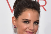 Katie Holmes Hair Knot