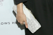 Melonie Diaz Leather Clutch