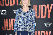 Sharon Stone Print Blouse