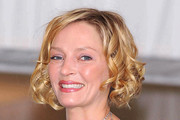 Uma Thurman Short Curls