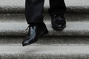 Nicolas Sarkozy Flat Oxfords