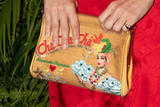 January Jones Printed Clutch