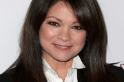 Valerie Bertinelli Long Straight Cut with Bangs