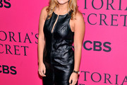 Vanessa Ray Leather Dress