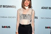Rose Byrne Fitted Blouse