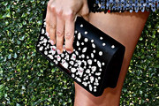 Aubrey Plaza Beaded Clutch