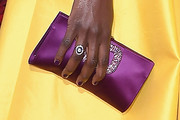 Danai Gurira Satin Clutch