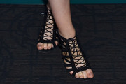 Sophie Simmons Lace-Up Heels