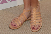 Bella Thorne Gladiator sandals