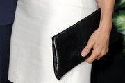 Amanda Anka Leather Clutch