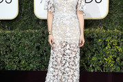 Kristen Wiig Lace Dress