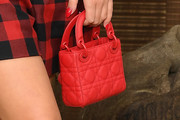 Adele Exarchopoulos Quilted Purse