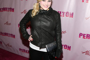 Meghan McCain Leather Jacket