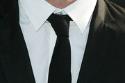 Michael Angarano Narrow Solid Tie