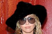 Miley Cyrus Fur Hat