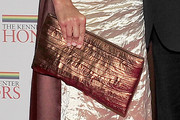 Keisha Metallic Clutch