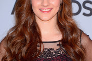 Aubrey Peeples Long Wavy Cut with Bangs