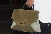 Rosie Huntington-Whiteley Suede Tote
