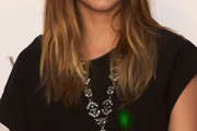 Ana de Armas Gemstone Statement Necklace