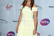 Laura Robson Off-the-Shoulder Dress