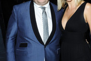 James Corden Dotted Tie