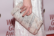 Julianna Margulies Metallic Clutch