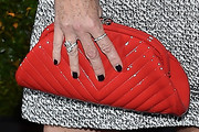 Minnie Driver Quilted Clutch