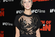 Andrea Riseborough Sheer Top