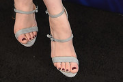 Anna Chlumsky Strappy Sandals