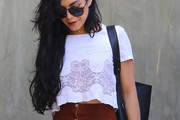 Vanessa Hudgens Crop Top