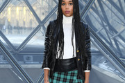 Laura Harrier Leather Jacket