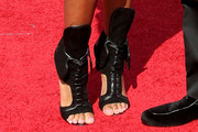 Dawn Richard Cutout Boots
