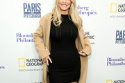 Christie Brinkley Form-Fitting Dress